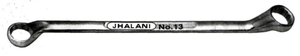 Jhalani Normal With Shallow Offset Ring Spanners 8x10