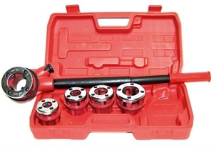 Gb Tools - Gb6620010 (1/2,3/4,1 Inch) Ratchet Die Set