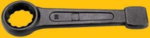 Gb Tools - 1302010 (27 Mm) Slogging Wrench - Ring End (Black Phosphated Finish)
