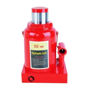 Hrdraumech (Capacity : 100 Ton) Integral Type Hydraulic Jack - Safety Lock Nut