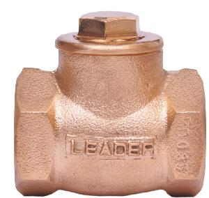 Leader Gun-Metal Horizontal Lift Check Valve 15 Mm 24 Bar Pn 16