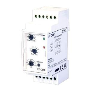 Minilec 24vdc 1a 50x50mm Rectangular Type Earth Fault Relay S2 Cmr3