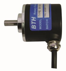 Bth Bi-38s- 2500-Pu Shaft Type Incremental Rotary Encoder (Resolution: 2500 Pulse Per Revolution)