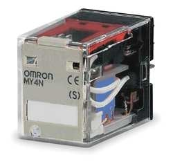 Omron My4n-Gs Ac220/240 4.8/5.3 Ma Latching Relay