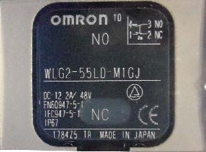 Omron Wlg2-55ld-M1gj 0.3m General Purpose Vertical Limit Switch