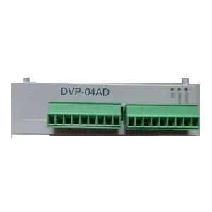 Delta PLC DVP04AD-S Extn Unit Analog module I/O 4/0