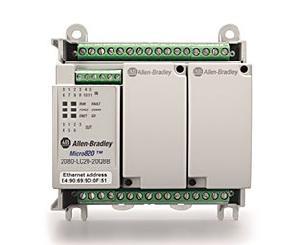 Allen Bradley 12-24 VDC Micro 820 Programmable Controller 2080-LC20-20QBB