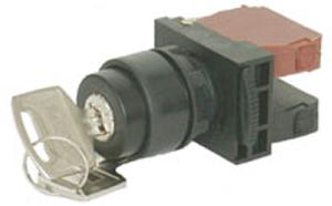 Nhd Nss22-K110b4 Black Push Button With Contact Element