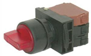 Nhd Nls22-S320r Red Push Button With Contact Element Ac/Dc 220-240v