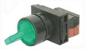 Nhd Nls22-S210g Green Push Button With Contact Element Ac/Dc 220-240v