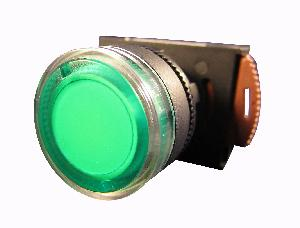 Nhd Nlb22-F10gi Green Push Button With Contact Element Ac/Dc 220-240v