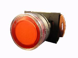 Nhd Nlb22-F01r1 Red Push Button With Contact Element Ac/Dc 220-240v