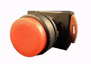 Nhd Npb22-F01r Red Push Button With Contact Element
