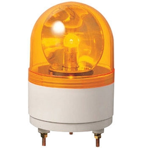 Emtex 12v, 24v Dc Yellow Revolving Lamp With Buzzer (Bulb Type)