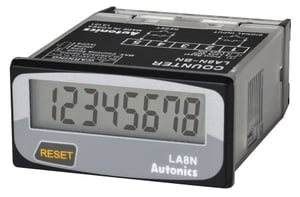 Autonics Compact Lcd Timer With 8 Digits Display-Le8n-Bf
