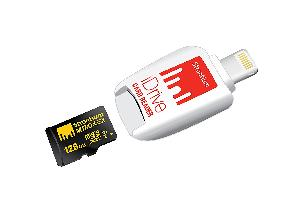 Strontium Nitro Idrive Card Reader With Micro Sd Card For 32gb