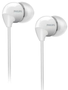 Philips White In-Ear Headphones She3590wt