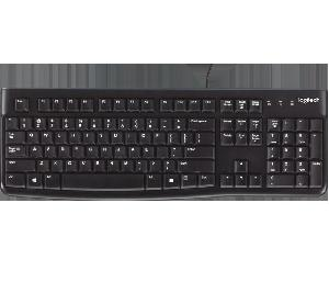Logitech K120 Wired Keyboard (Black) - 3 Years Warranty Keyboard