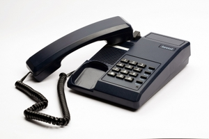 Beetel Corded Landline Phone (Black) - B11