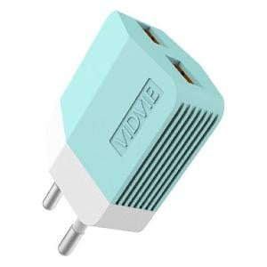 Vidvie Ple203v 2.4a Android Charger With Cable Blue Chple203v-V8bu