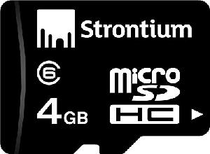 3ccecf4e5 Buy Strontium Memory card combo of 4 GB class 6 and 8 GB class 6 combo  Online in India at Best Prices
