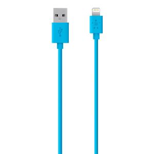 Belkin 4 Ft Lightning Sync/Charge Cable F8j023bt04-Blu
