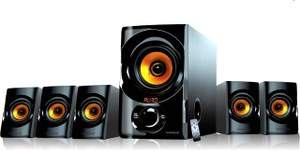 Ambrane Multimedia Speaker With Bluetooth/Fm (Black) - Ams-2100