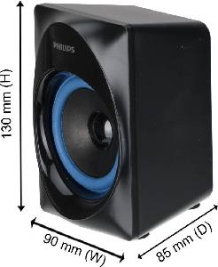 70888c671c9 Buy Philips MMS2580B 94 30 W Portable Bluetooth Home Audio Speaker ...