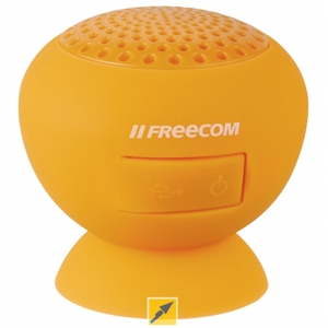 Freecom (37165) Freecom Tough Speaker (Orange) - Ipx7