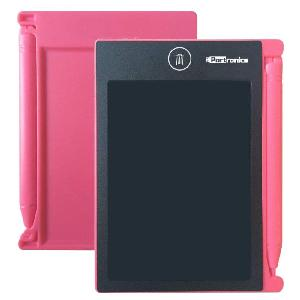 "Portronics Ruffpad 4.4"" Re-Writable Lcd Pad Pink Por-881"