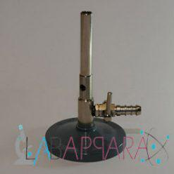 Labappara Brass Bunsen Burner With Stop Cock