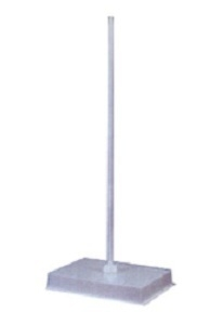 Tarson 142010 Pp / Pc Coated Rod Side Retort Stand Lxb 22x15 Cm