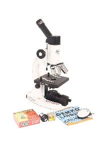Gekolabwell Microscope With Changeable Cordless Led Lamp