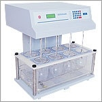 Electronics India 1916 Microprocessor Dissolution Test Apparatus With 25 - 200 Rpm, + 1 Rpm Stirrer