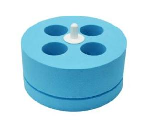 Hercuvan Foam Tube Holder For 50 Ml Tubes 4 Holes Use With Tt-Vm-P