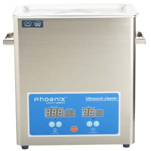 Phoenix Digital Ultrasonic Cleaner With Basket  2.5 Ltr Phuc-50