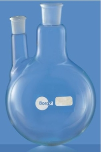 Borosil Round Bottom Interchangeable Joint Flasks Cap.1000 Ml 4382b29