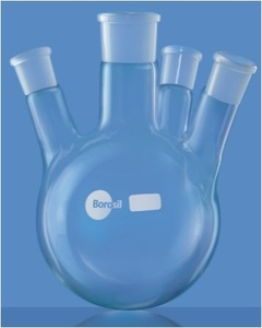 Borosil Round Bottom Interchangeable Joint Flasks Cap.20000 Ml 4385a40