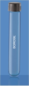 Borosil Round Bottom With Screw Cap And Liner (O.D Length 25 X 100 Mm)