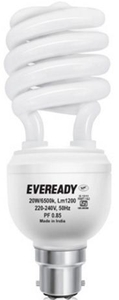 Eveready 15w Spiral Hpf White Cfl Bulb