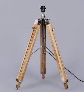 Buy noble electricals teak wood tripod floor lamp base ned1316 noble electricals teak wood tripod floor lamp base ned1316 aloadofball Images