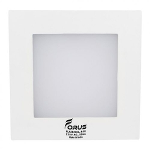 Forus 6w Square Cool White Backlit Led Down Light