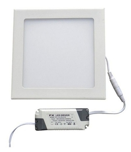 Egk 18 W Cool White Square Led Panel Light With Driver Ps18w