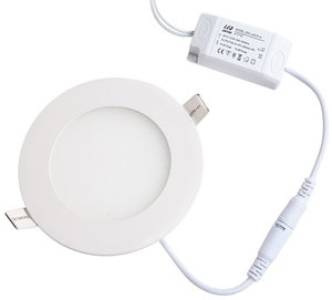 Light Concept 9w Natural White Led Round Panel Light Dl09pser