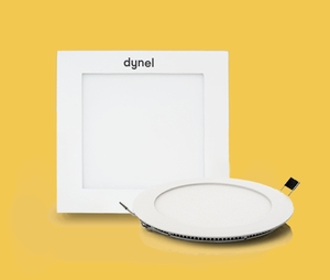 Dynel 5 W 400 Lm 110 X 22 Mm Round Warm White Led Panel Light