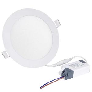 cbabbd3c07 Buy EGK 12W Slim Round LED Panel Light With Driver(Warm White) Online in  India at Best Prices