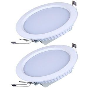 Sessco 12w Round Warm White Slim Led Panel Light Sesspr12ww