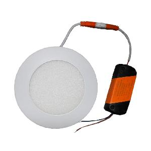 Lumogen 6 Watt Round Cool White Slim Led Panel Light