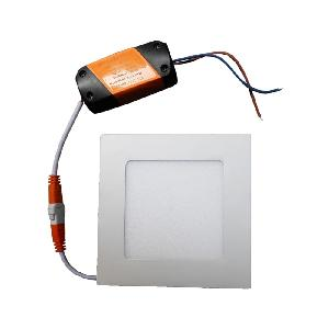 Lumogen 6 Watt Square Warm White Slim Led Panel Light