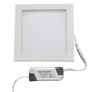 Egk 18w Slim Square Led Panel Light With Driver(Warm White)